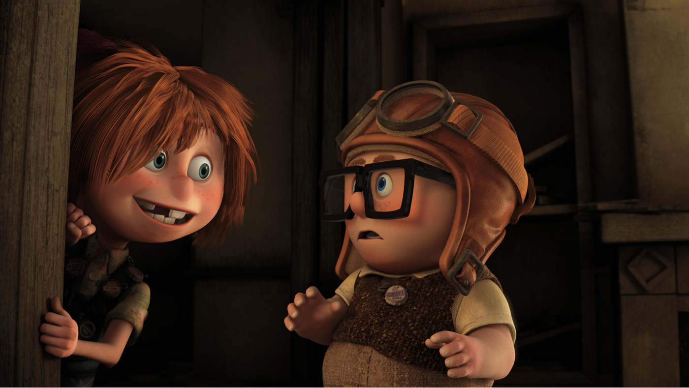 the best moments in film history carl and ellie s love story in up