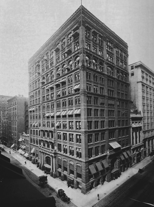The Home Insurance Building in Chicago